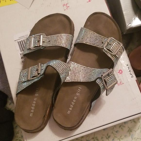 Madden Girl Shoes | Diamond Slides